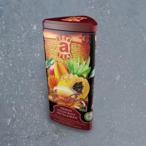 Ceilonas melnā tēja ar augļiem