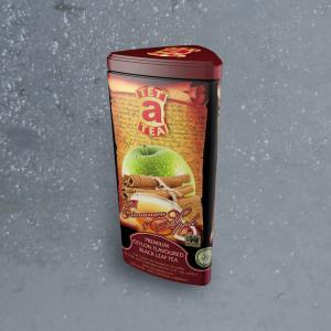 Ceilonas melnā tēja ar kanēli un ābolu