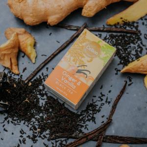 Ceilonas melnā tēja ar ingveru un vaniļu